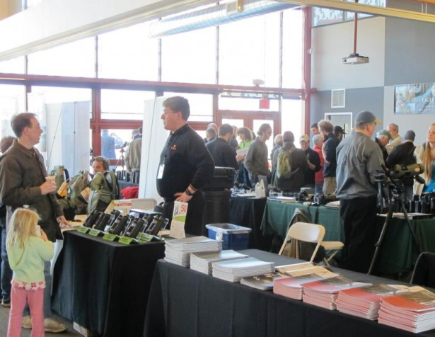 Vendors at the American Birding Expo